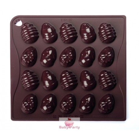 Stampo Silicone Per Ovetti Di Cioccolato Pavoni