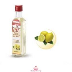 Bagna analcolica limone per aromatizzare creme ed impasti