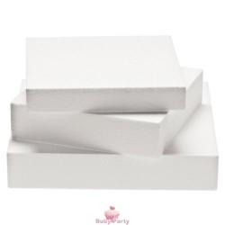 Base Polistirolo Rettangolare Alta 7,5 cm Cake Design