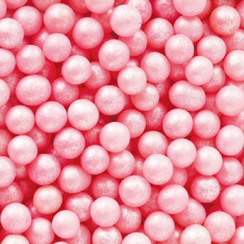 Perle Di Zucchero Rosa 100g Decora