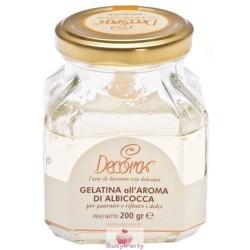 Gelatina aroma albicocca della Decora da 200 gr