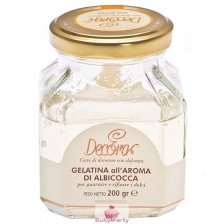 Gelatina Aroma Albicocca 200g Decora