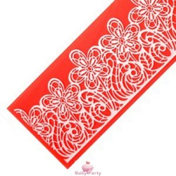 Stampo In Silicone Per Sweet Lace Flower Power Modecor
