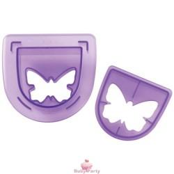 Set Ricambio Per Timbrataglia Forma Farfalla Cake Design Wilton