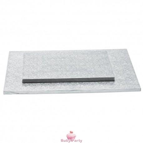 Cake Board Rettangolare Bordo Alto 1,2 cm Decora