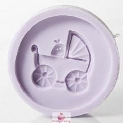 Stampo In Silicone Carrozzina Baby Karen Davies