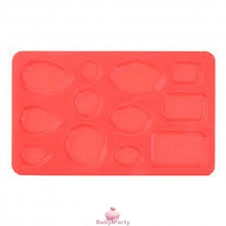 Stampo in silicone gemme 12 impronte Modecor
