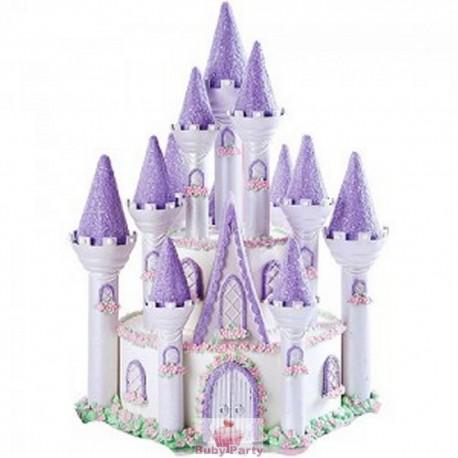 Set castello romantico Wilton per torte fiabesche