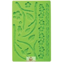 Stampo in silicone farfalle e libellule per pasta di zucchero