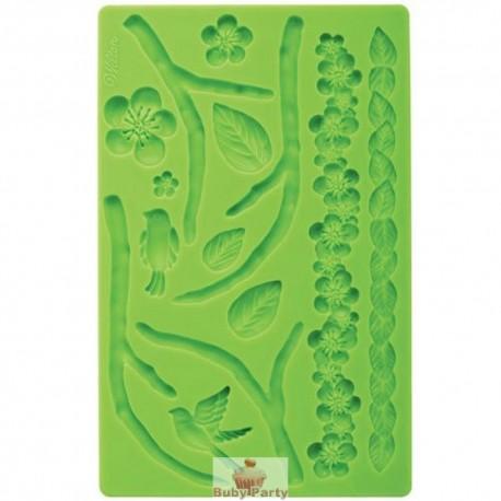Stampo Silicone Natura Per Pasta Di Zucchero Wilton