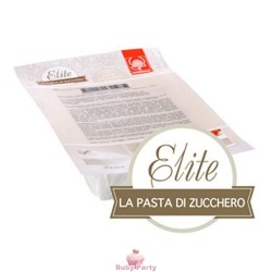 Pasta di zucchero Elite bianca Modecor da 1 kg
