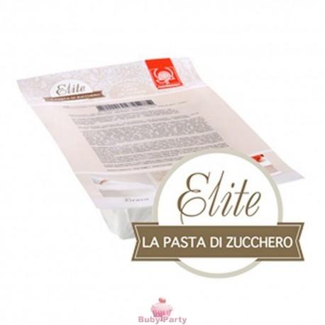 Pasta di zucchero Elite bianca Modecor da 1 kg Senza Glutine