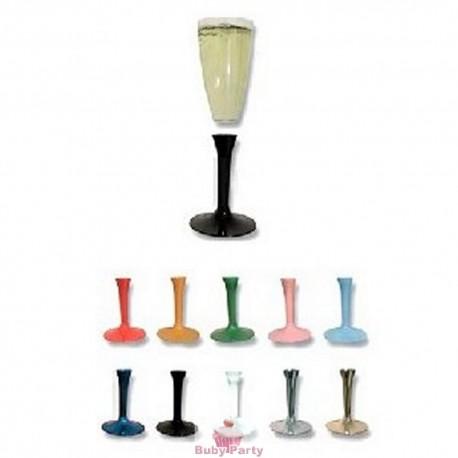 Flutes in plastica trasparente 20 pz