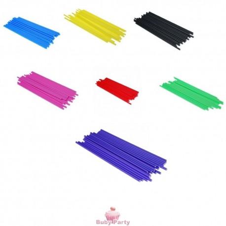 Bastoncini in plastica colorati