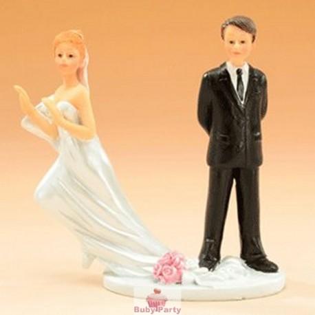 Topper Cake Matrimonio Sposa Fuggitiva Modecor