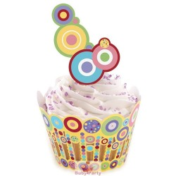 Wrapper Avvolgi Muffin Con Pick Sweet 36 pz Wilton