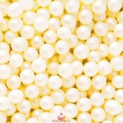 Perle Di Zucchero Bianco Perla 100g Decora