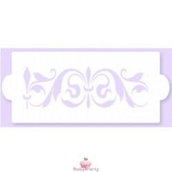 Stencil a fascia della Pavoni per decorazioni su torte