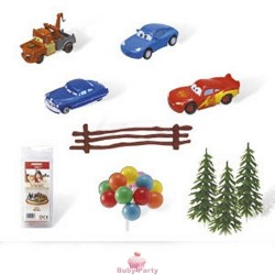 Kit Decorativo Per Torta Di Cars Modecor