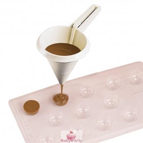 Colino In Plastica Per Cioccolato Wilton