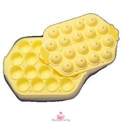 Stampo in silicone per cake pops della Decora 18 cavità