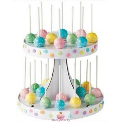 Espositore 28 Cakepops In Cartone Wilton
