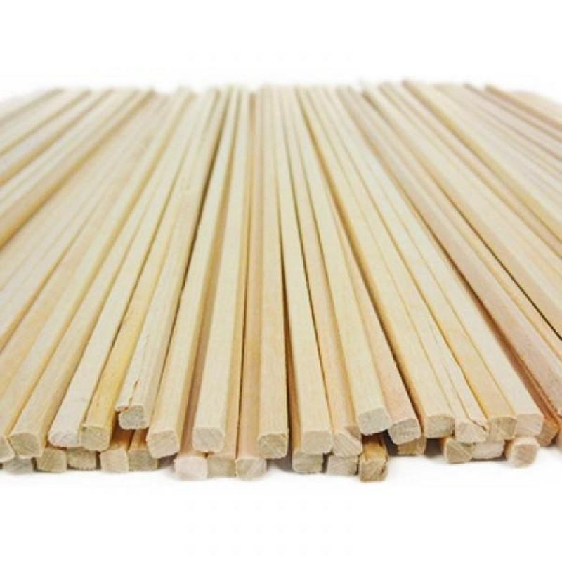 1400 Bastoncini Per Zucchero Filato In Legno