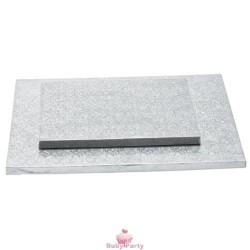 Cake board quadrato bordo alto 1,2 cm Decora