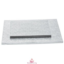 Cake board quadrato bordo alto 1,2 cm Decora
