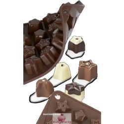 Stampo In Silicone Per Cioccolatini A Stella Pavoni