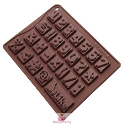 Stampo In Silicone Per Numeri Di Cioccolato O Isomalto Pavoni