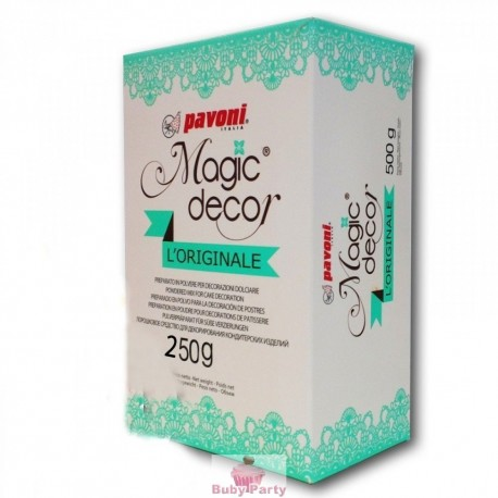 Magic Decor Per Pizzi In Zucchero 250g Pavoni