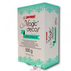 Magic decor Pavoni pizzi in zucchero 500 gr