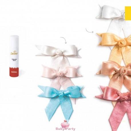 Spray alimentare perlato bianco della Decora 75 ml