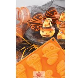 Stampo in silicone Halloween monster 8 porzioni