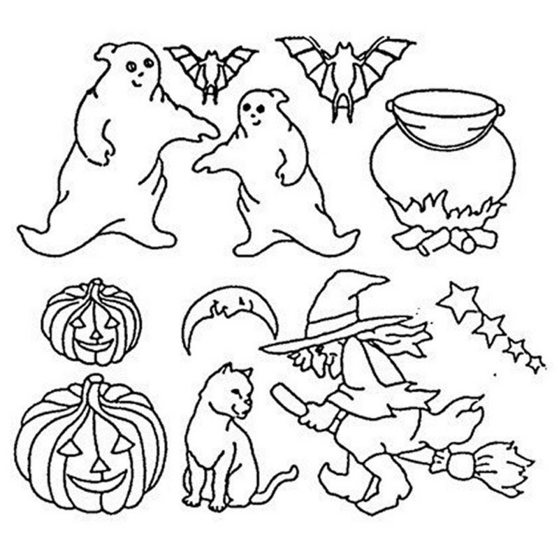 Patchwork Cutters Halloween Per Tagliare Ed Incidere Su Fondente