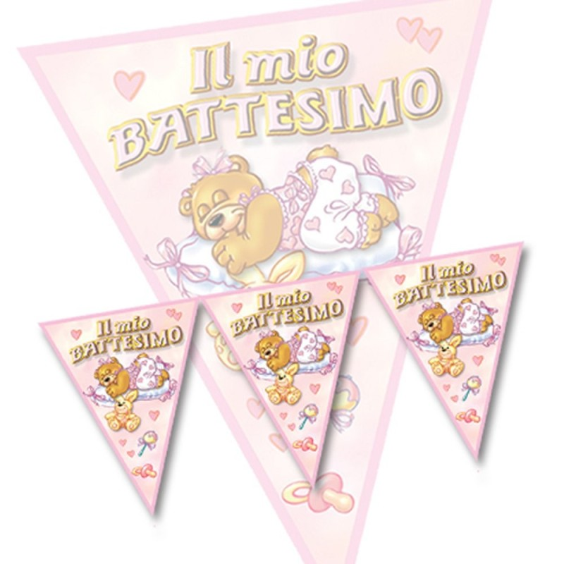 Bandierine Il Mio Battesimo 3,60 mt Magic Party