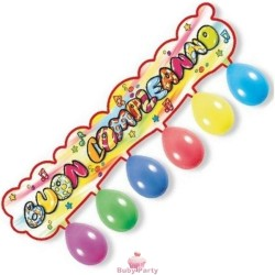 Festone Kit Buon Compleanno 110 cm Magic Party
