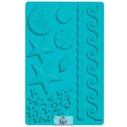 Stampo Silicone Mare Per Pasta Di Zucchero Wilton