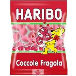 Caramelle gommose coccole alla fragola Haribo 1 kg