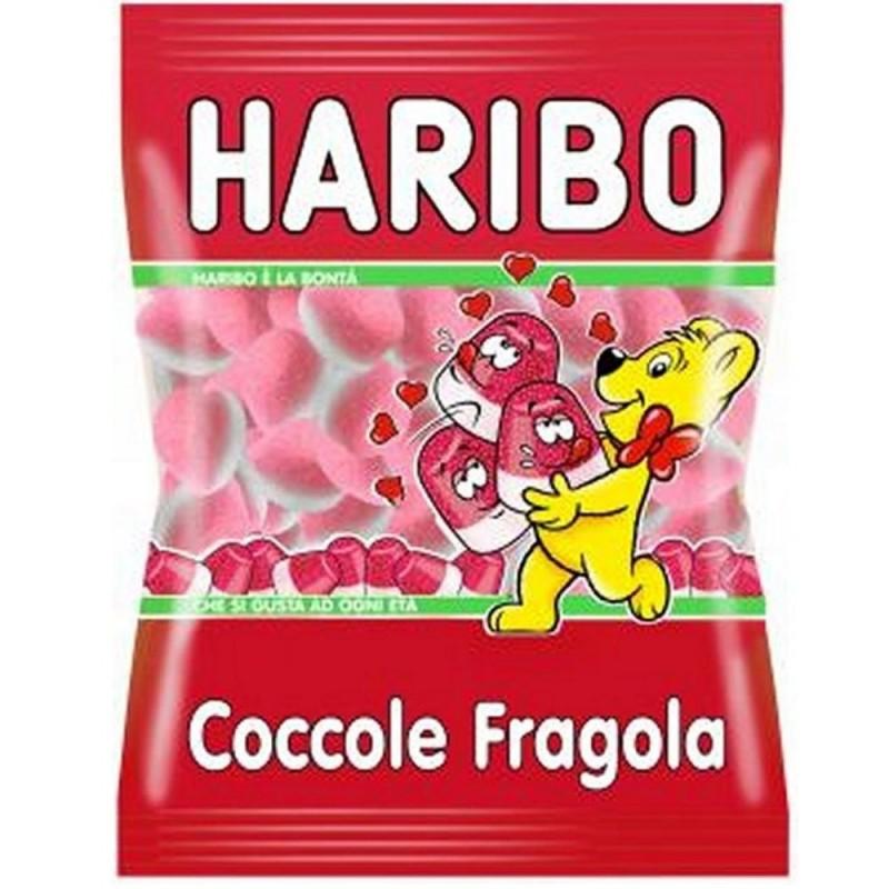 Caramelle Gommose Coccole Alla Fragola 1 kg Haribo
