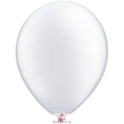 100 Palloncini In Lattice 9 Pollici Colore Bianco