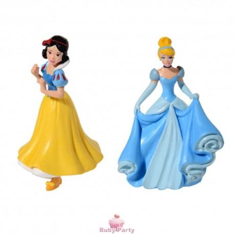 Principesse Disney per torta in 3D 2 modelli Modecor