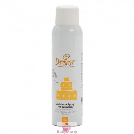 Lucidante spray per alimenti Decora 150 ml