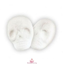 Teschi di marshmallow in 3D ripieni di cioccolato 1 kg Bulgari