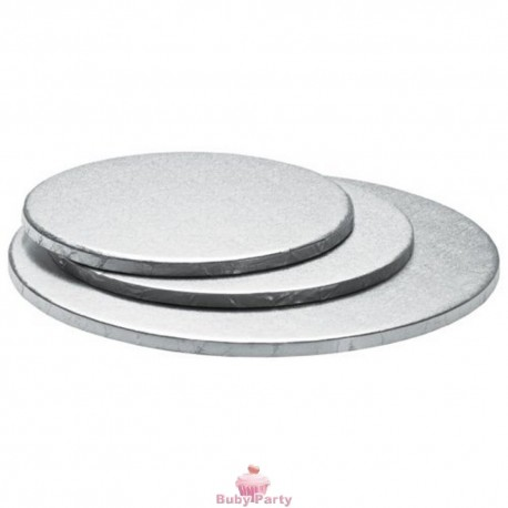 Cake Board Tondo Bordo Alto 1,2 cm Decora
