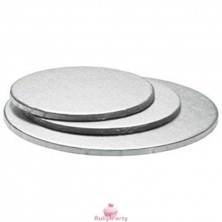 Cake Board Argento