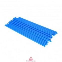 50 Bastoncini Azzurri Per Lecca Lecca E Pop Cake