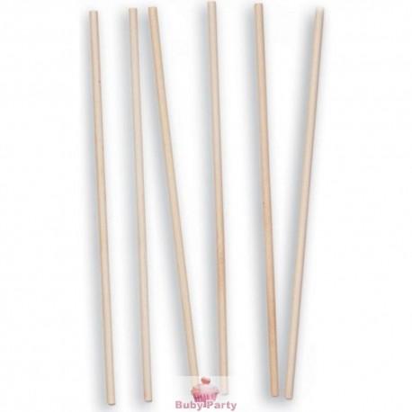 12 Pioli Per Torte A Piani In Bambù Naturale Wilton