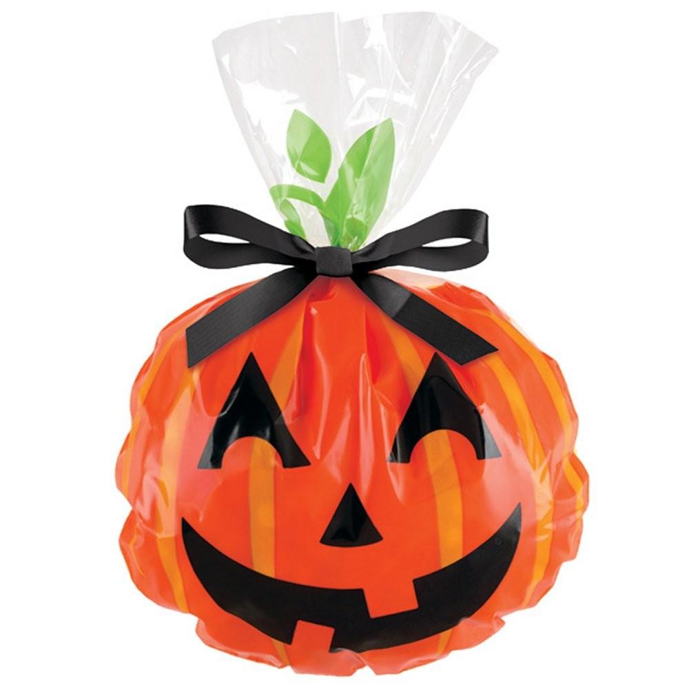 12 Sacchetti Porta Dolcetti Di Halloween Con Zucca Sorridente Wilton - Buby  Party Store acb2e8ce4c6a
